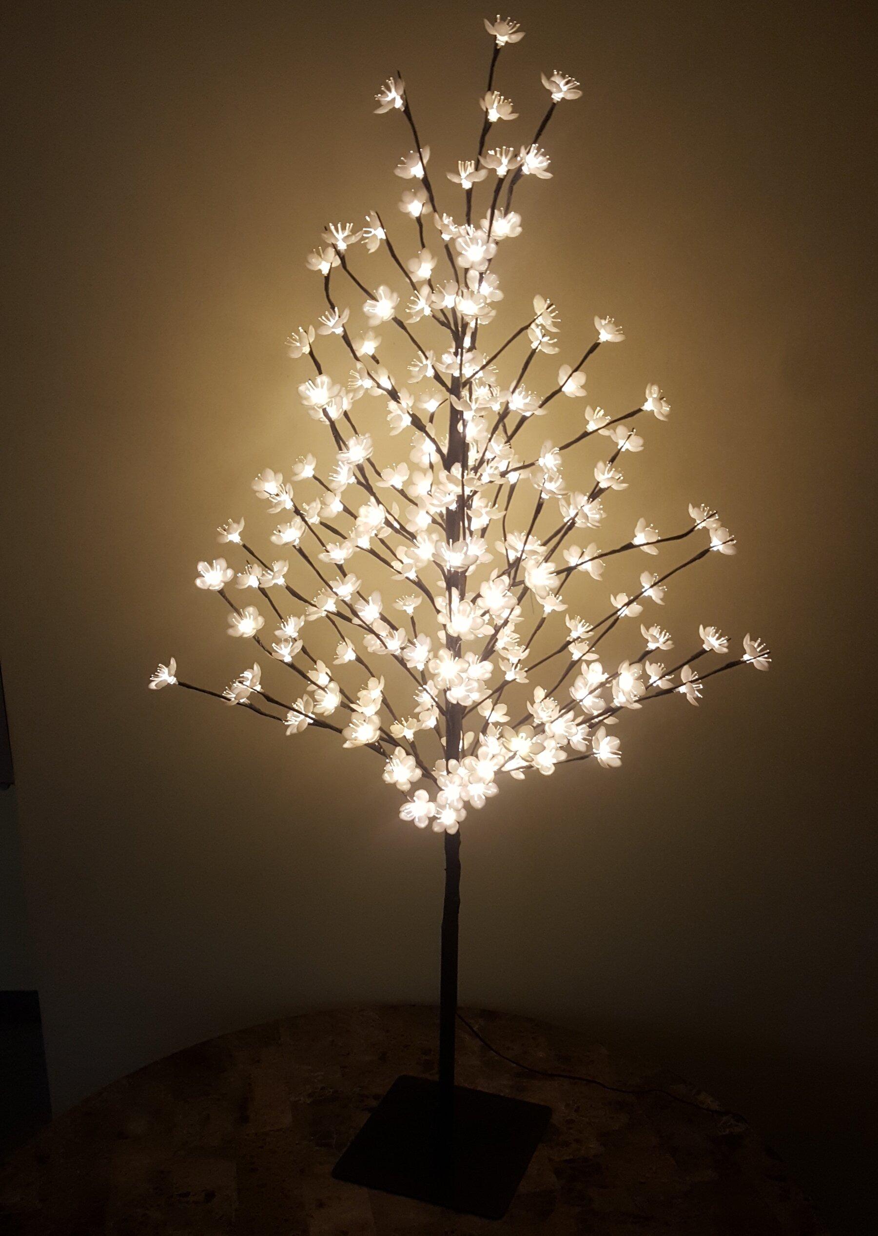 Hi Line Gift Ltd Cherry Blossom Tree 200 Light Led Lighted