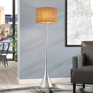Find for Haugland 58.25 Floor Lamp By Mercury Row