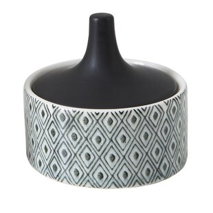 Stoneware 0.5 qt. Storage Jar
