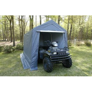 Small 7.5 Ft. W x 12 Ft. D Garage by King..