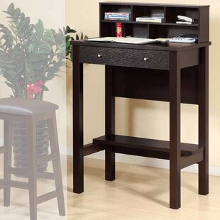 Voorhies Standing Desk With Hutch by Latitude Run Cool