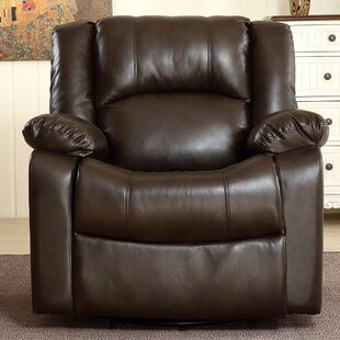 Hubbell Manual Swivel Rocker/Glider Recliner by Ebern Designs
