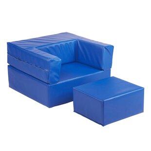 Best Price Softzone® Flip-Flop Kids Chair ByECR4kids