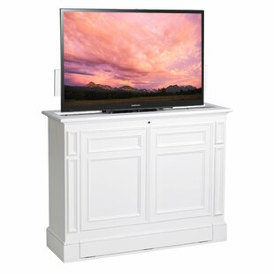 Caspar Solid Wood TV Stand For TVs Up To 55