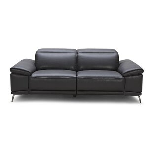 Coupon Carnegie Leather Reclining Sofa by Wade Logan Reviews (2019) & Buyer's Guide