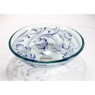 Best Glass Circular Vessel Bathroom Sink ByLegion Furniture
