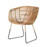 Capewood Barrel Chair by Bungalow Rose