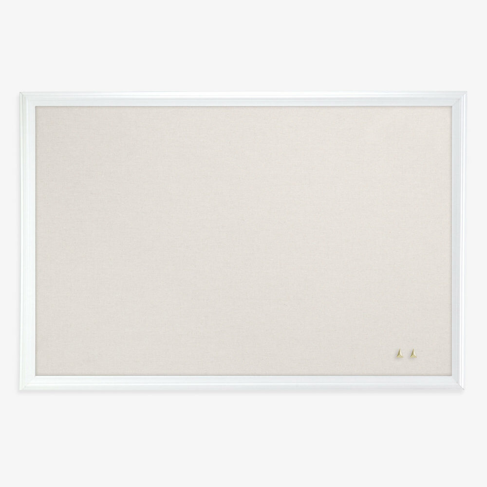 U Brands LLC Cork Linen Surface Wall Mounted Bulletin Board ...
