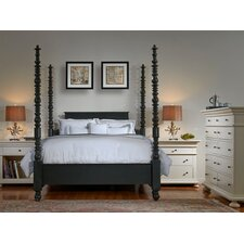 Parkland Four Poster Customizable Bedroom Set by One Allium Way