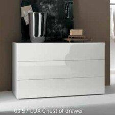 Lux 3 Drawer Dresser by Bontempi Casa