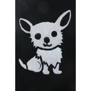 Zoomania Dog Black/White Children's Area Rug By Rug Factory Plus