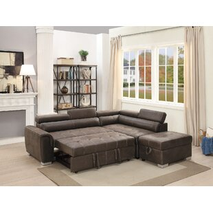 Latitude Run Marrero Sleeper Sectional Wi..