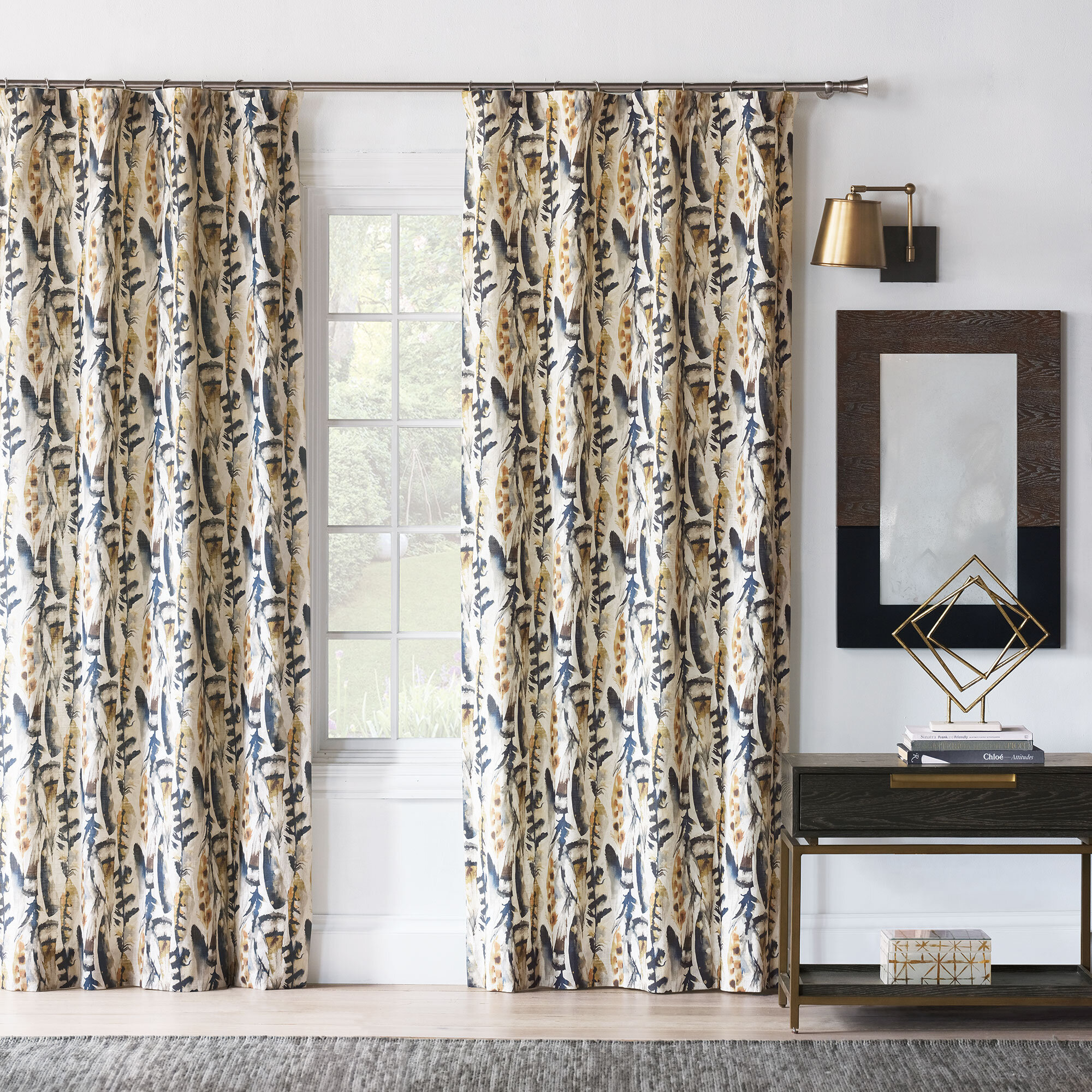 Luxury Farmhouse Country Curtains Drapes Perigold