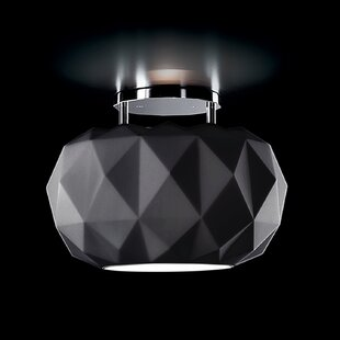 Deluxe 1-Light Semi Flush Mount by Leucos