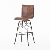 Cribb 30 Swivel Bar Stool by Fleur De Lis Living