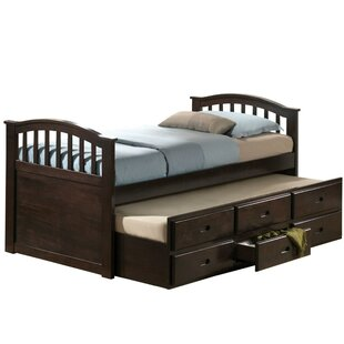 Eitan Full Bed with Trundle by Harriet Bee
