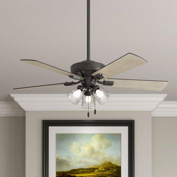 Vintage Ceiling Fan With Light Wayfair