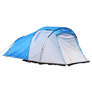 Outsunny 2-4 Person Tent with Porch