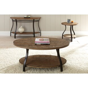 Bess 3 Piece Coffee Table Set