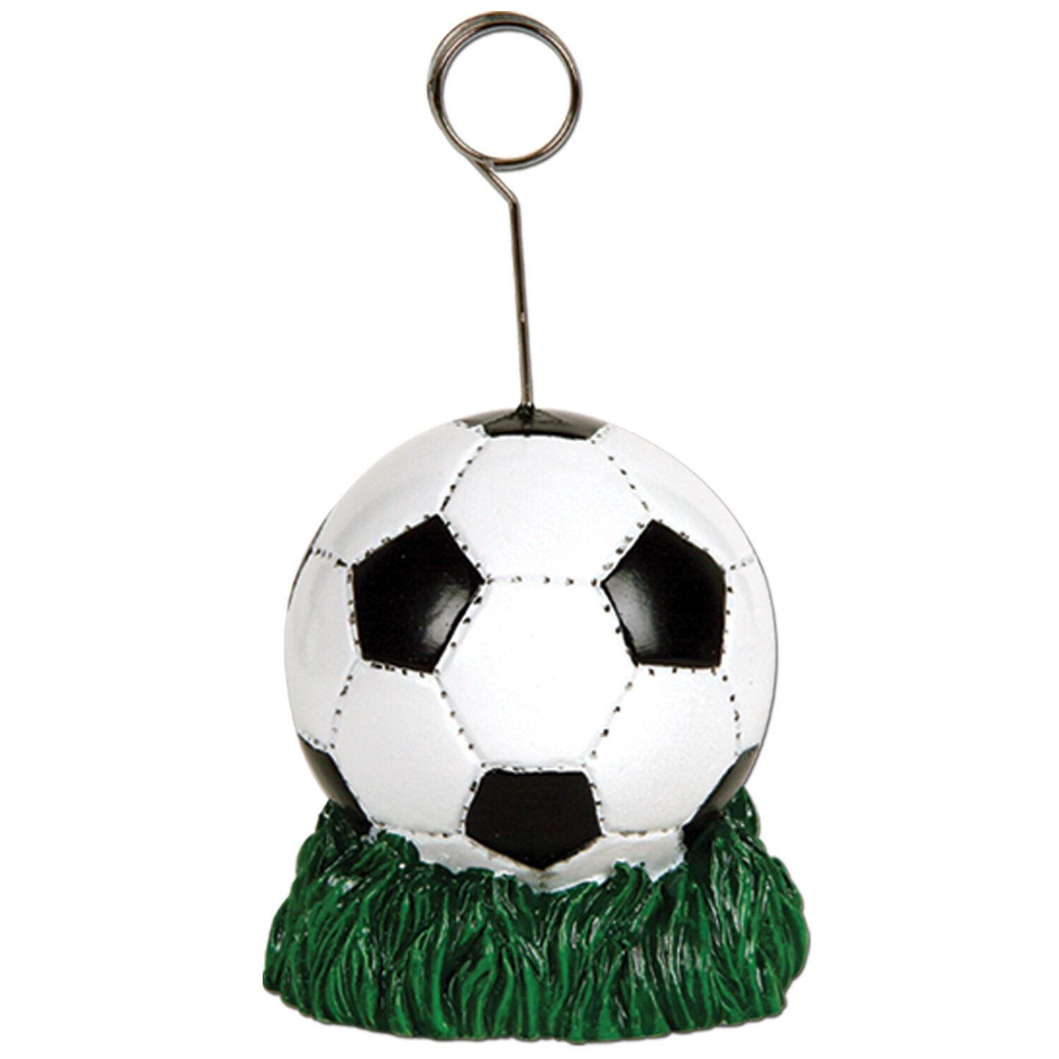 The Party Aisle Soccer Ball Photo Holder Picture Frame | Wayfair