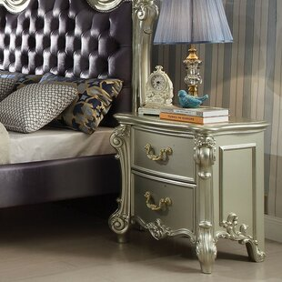 Westhoughton 2 Drawer Nightstand by Astoria Grand