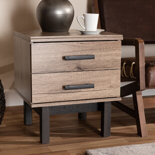 Whittaker 2-Drawer End Table by Union Rustic