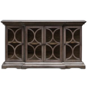 Rebeca Belino Wooden 4 Door Accent Cabinet