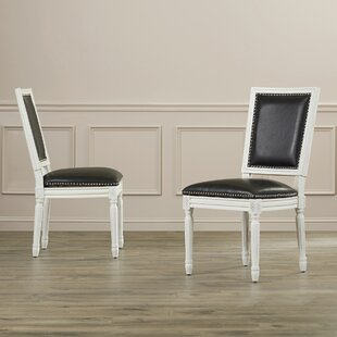 Inexpensive Battle Upholstered Dining Chair (Set of 2) by House of Hampton Reviews (2019) & Buyer's Guide