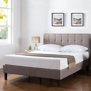 Wrought Studio Royster Vertical Detailed Upholstered Platform Bed