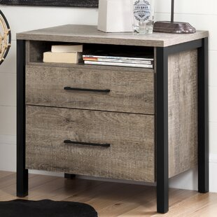 Munich 2 Drawer Nightstand by South Shore