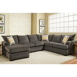 Louis Sectional  sc 1 st  Wayfair : u shaped sectional couch - Sectionals, Sofas & Couches