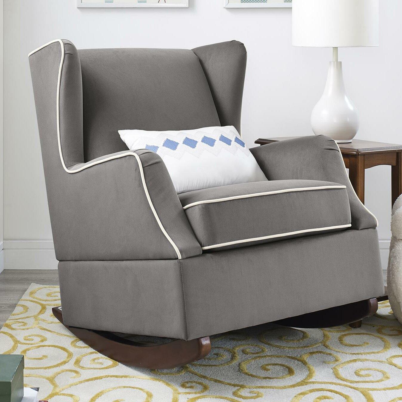 Stupendous Baby Relax Hudson Wingback Rocker Glider Reviews Wayfair Beatyapartments Chair Design Images Beatyapartmentscom