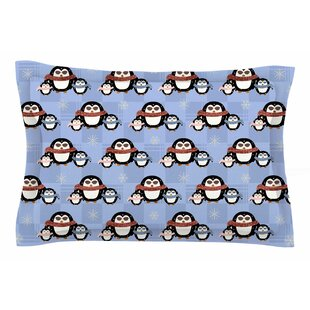 Cristina Bianco Design 'Cute Penguins' Sham