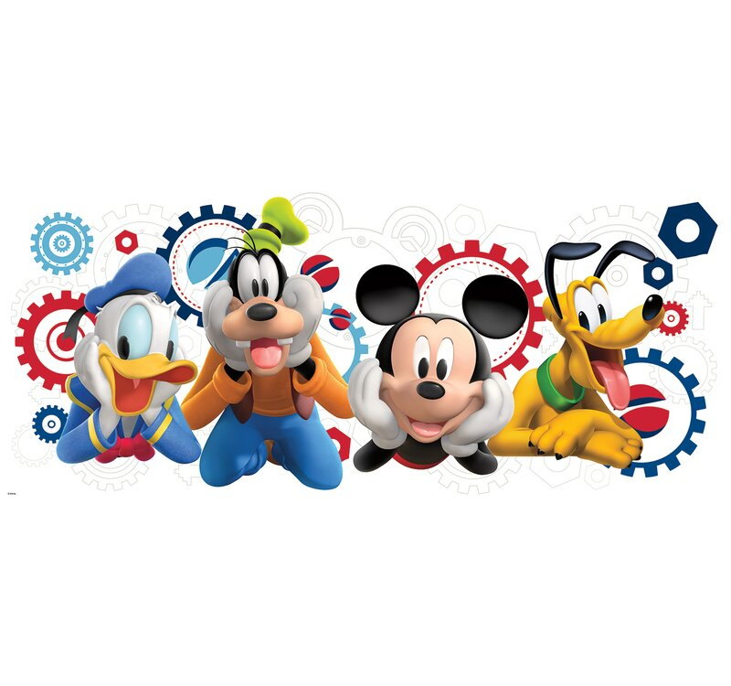 c57d91b9ea2 Room Mates Mickey and Friends Mickey Mouse Clubhouse Capers Giant Wall  Decal   Reviews