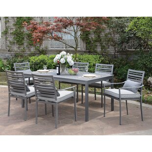 Brayden Studio Sahana 7 Piece Dining Set