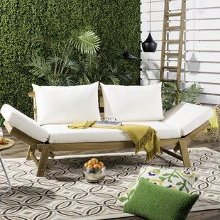 Whitely Patio Daybed with Cushions