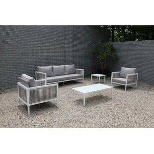 Pacifica 5 Piece Sofa Set with Cushions