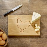 August Grove Orford Cherry Wood Cutting Board