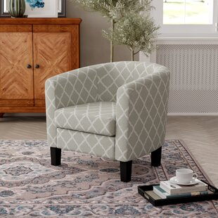 Swarthout Barrel Chair by Winston Porter