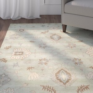 Colesberry Light Green Area Rug