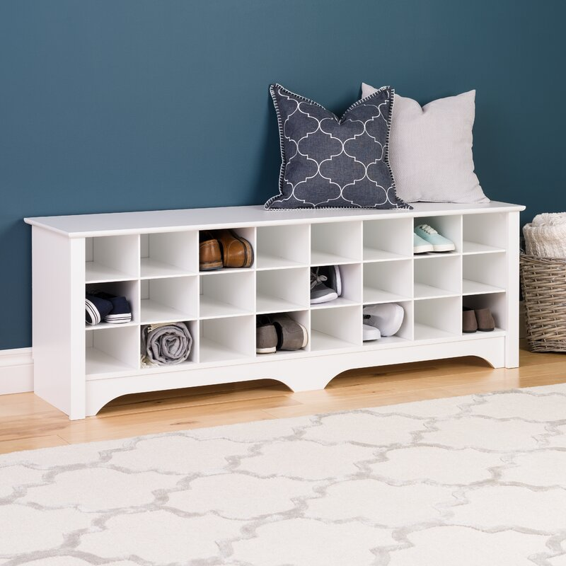 Charmant Ingham Shoe Cubby Storage Bench