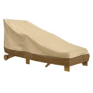 Chaise Lounge Cover with Elastic Hem Cord