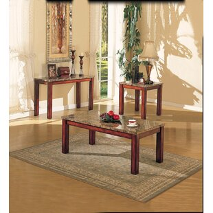 Halford 3 Piece Coffee Table Set