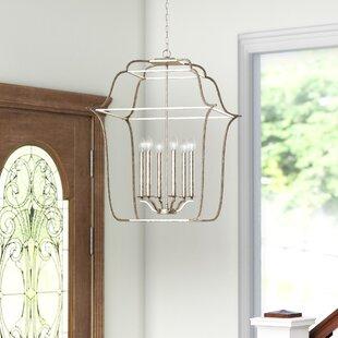 Chloe 6-Light Foyer Pendant by Laurel Foundry Modern Farmhouse