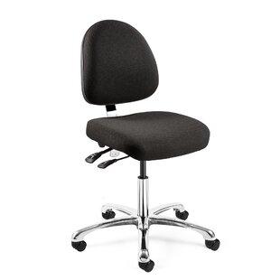 Waybury Mid-Back Drafting Chair by Orren Ellis