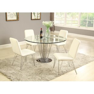Noah 5 Piece Dining Set Orren Ellis
