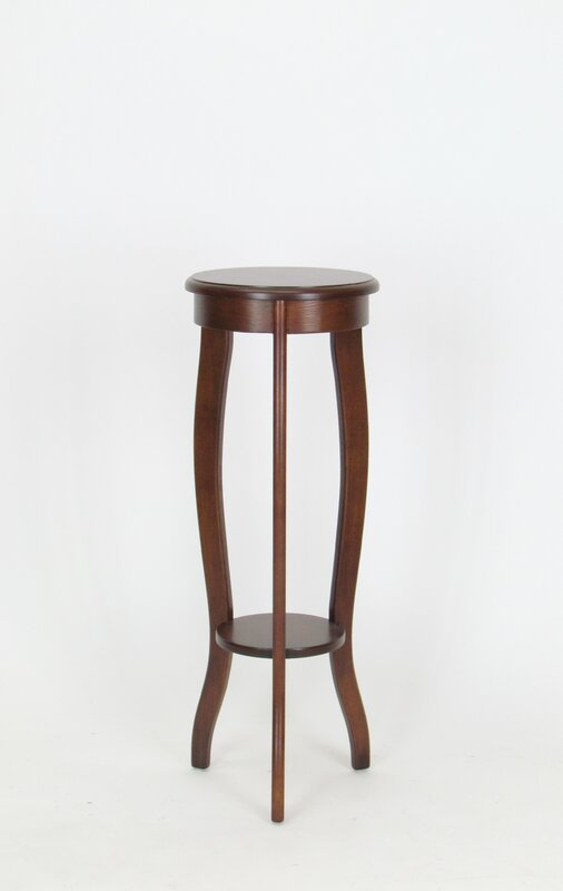 Telephone Table alcott hill timberlake pedestal telephone table & reviews | wayfair