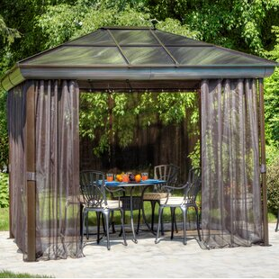 10 Ft. W x 14 Ft. D Aluminum Patio Gazebo by Gazebo Penguin