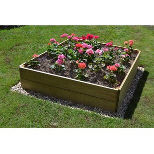 Charlie Wooden Raised Flower Bed By Freeport Park