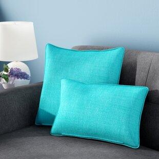 Dunwich 4 Piece Outdoor Throw Pillows Set